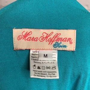 Mara Hoffman Pants - Mara Hoffman | Estrada Turquoise Romper | M